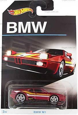 Игрушечный автомобиль BMW от Hot Wheels, DJM79