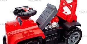 Машина-каталка Mega Bloks серии First Builders, DBL13, игрушки