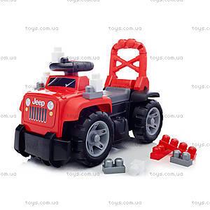 Машинка-каталка Mega Bloks «Джип», DBL13