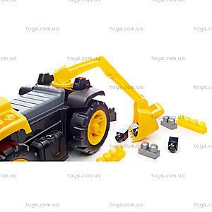 Автомобиль-экскаватор Mega Bloks CAT, DCH13, фото