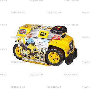 Автомобиль-каталка Mega Bloks «Экскаватор CAT», DCH13, фото