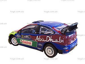 Автомобиль Ford Focus Abu Dhabi 1:16, р/у, S86063, фото