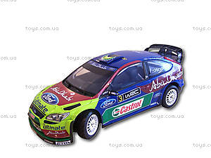 Автомобиль Ford Focus Abu Dhabi 1:16, р/у, S86063, отзывы