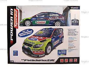 Автомобиль Ford Focus Abu Dhabi 1:16, р/у, S86063, цена