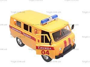 Автомобиль инерционный «Газовая служба», 9518B, игрушки
