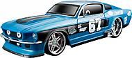 Автомобиль 1967 Ford Mustang GT со светом и звуком синяя, 81223-1, отзывы