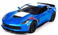 Автомобиль Corvette Grand Sport синий металлик, 31516-1, купить
