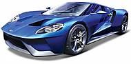Автомобиль Ford GT со светом и звуком синий, 81238-1, купить