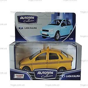 Автомобиль коллекционный Lada Kalina «Такси», 11497W-CIS
