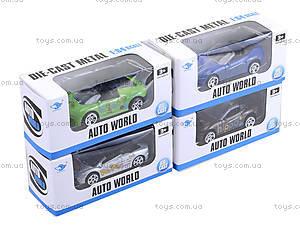 Автомобиль металлический для детей, JP2245, детские игрушки