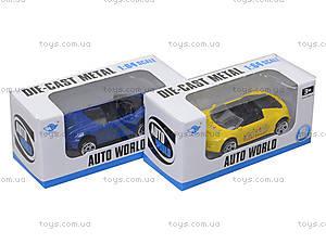 Автомобиль металлический для детей, JP2245, toys