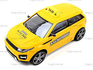 Автомобиль на радиоуправлении «Такси», TJ168-1, магазин игрушек