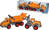 Автомобиль-самосвал и трактор-погрузчик, 38159, купить