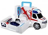 Автомобиль «Скорая помощь» с набором врача, 371 6000, игрушки