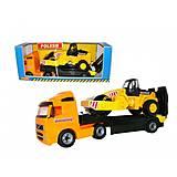 Автомобиль-трейлер и дорожный каток , 36902