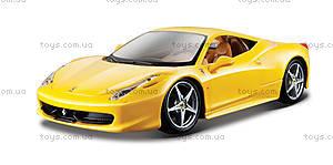 Коллекционная машина Ferrari 458 Italia, 18-26003