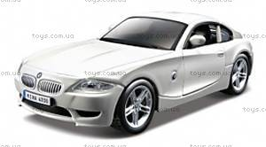 Автомодель - BMW Z4 M COUPE (синий  металлик,  1:32), 18-43007