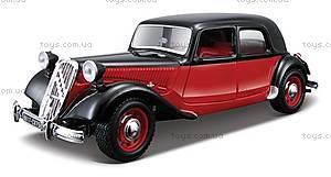 Автомодель - CITROEN 15 CV TA (1938), 18-22017