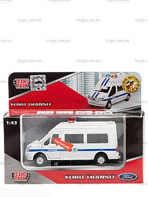 Игрушечная модель Ford Transit «Полиция», SB-13-02-2
