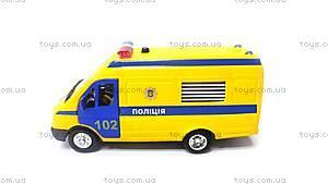 Детская автомодель «Газель Полиция», CT-1276-17P, купить