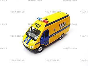 Детская автомодель «Газель Полиция», CT-1276-17P, фото
