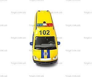 Детская автомодель «Газель Полиция», CT-1276-17P, отзывы