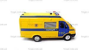 Детская автомодель «Газель Полиция», CT-1276-17P, цена