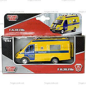 Детская автомодель «Газель Полиция», CT-1276-17P