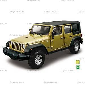 Модель автомобиля Jeep Wrangler Unlimited Rubicon, 18-43012