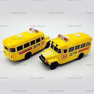 Металлическая модель детского автобуса, CT10-069-5