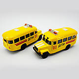 Металлическая модель детского автобуса, CT10-069-5, фото