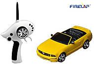 Автомодель р/у 1:28 Firelap IW02M-A Ford Mustang 2WD желтый, FLP-211G6y, купить