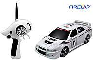 Автомодель р/у 1:28 Firelap IW02M-A Mitsubishi EVO 2WD белый, FLP-205G6w, фото