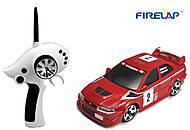 Автомодель р/у 1:28 Firelap IW02M-A Mitsubishi EVO 2WD красный, FLP-205G6r