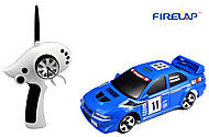 Автомодель р/у 1:28 Firelap IW02M-A Mitsubishi EVO 2WD синий, FLP-205G6a