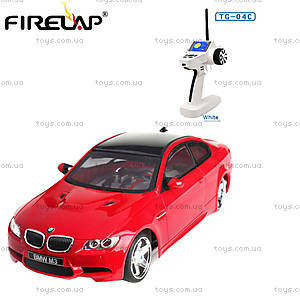 Автомодель р/у 1:28 Firelap IW04M BMW M3 4WD красный, FLP-412G4r