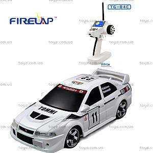 Автомодель р/у 1:28 Firelap IW04M Mitsubishi EVO 4WD белый, FLP-405G4w