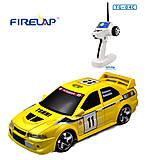 Автомодель р/у 1:28 Firelap IW04M Mitsubishi EVO 4WD желтый, FLP-405G4y, отзывы