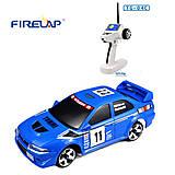 Автомодель р/у 1:28 Firelap IW04M Mitsubishi EVO 4WD синий, FLP-405G4a