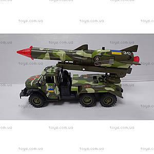 Автомодель ЗИЛ-131 с ракетой, CT10-001-R/3