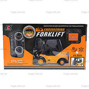 Автопогрузчик р/у 1:20 Forklift, QY-B039, детские игрушки