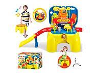 Автотрек для малышей в коробке-стульчике, 008-805