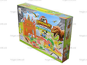 Автотрек на батарейках «Dinosaur», 2208A, фото