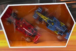 Автотрек «Параллельные гонки» со световыми эффектами, 0853, детские игрушки
