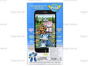 Детский телефон айфон «Робокар Поли», JD-002P, фото