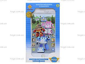 Детский телефон айфон «Робокар Поли», JD-002P, цена