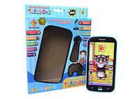 Игрушечный телефон «Айфон Кот Том», JD-201A, фото