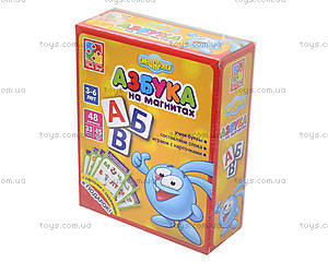 Азбука для дошкольников на магнитах «Смешарики», VT1502-06, игрушки