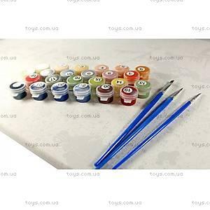 Бабочки на цветах, рисование по номерам, КН129, купить