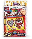 Baby Paillette «Love cat», PG-01-04, купить